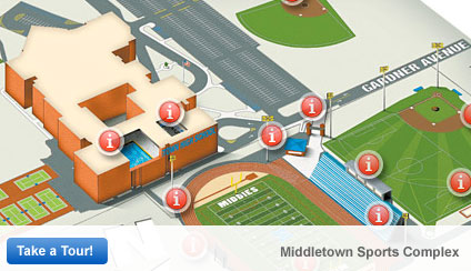 Take a tour of the Middletown Sports Complex