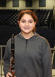 Junior high all-county musicians
