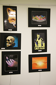 MHS student artwork on display at Touro College