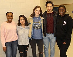 Five MHS students earn seats at convention